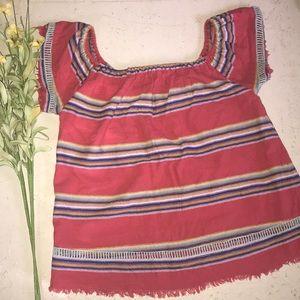 🌻dRA Los Angeles red southwestern shirt